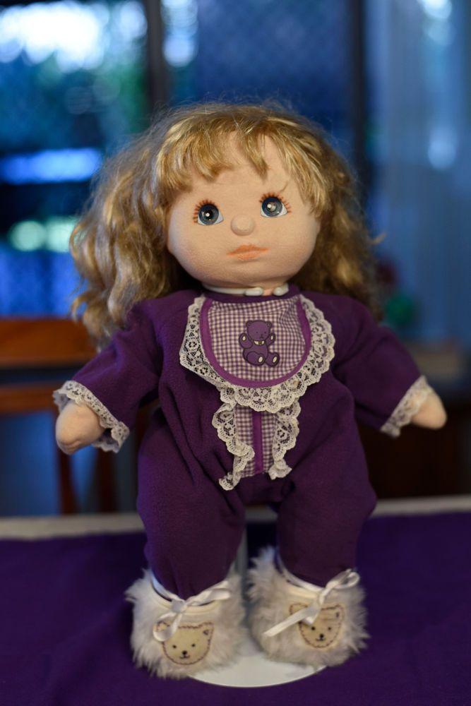 My Child Doll Ash Blonde Blue Eye Ringlet My Child Doll