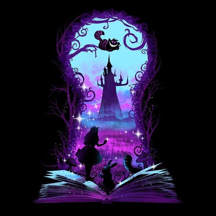 Book of Wonderland (Alt) - Men's Apparel