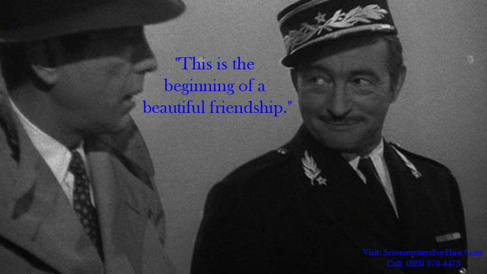 Movie Quote For Casablanca This Is The Beginning Of A Beautiful