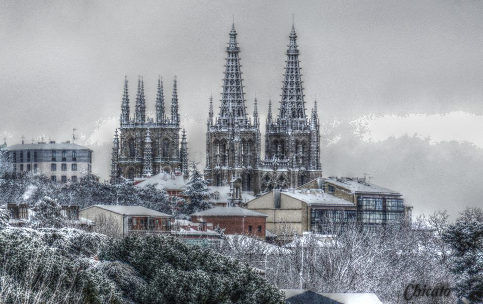 Resultado de imagen de Burgos,nieve