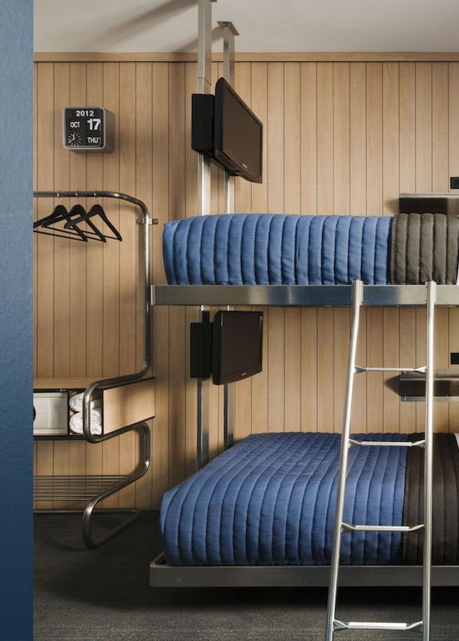 At Pod39, All Rooms Have Wall-mounted Flat Screen
