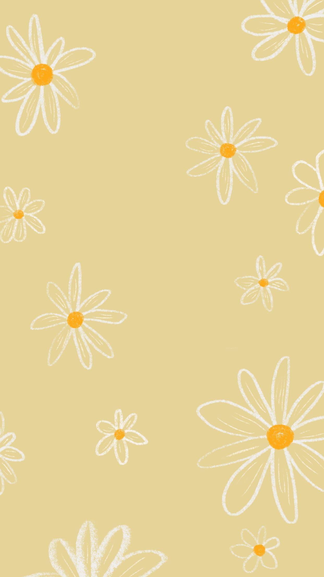 Wallpaper Sunny Yellow Phone Wallpaper Boho Wallpaper Iphone Boho Ipad Air Wallpaper