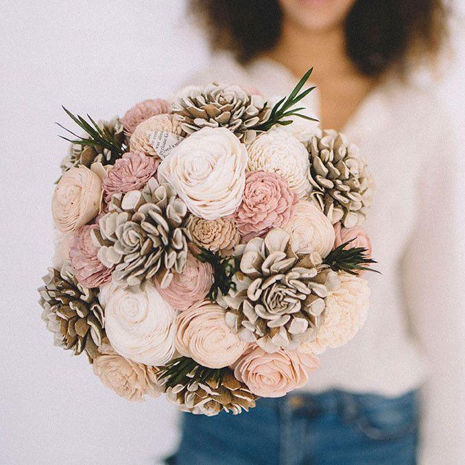 Free the Gypsy ecoflower wedding bouquet gorgeous! | My ...