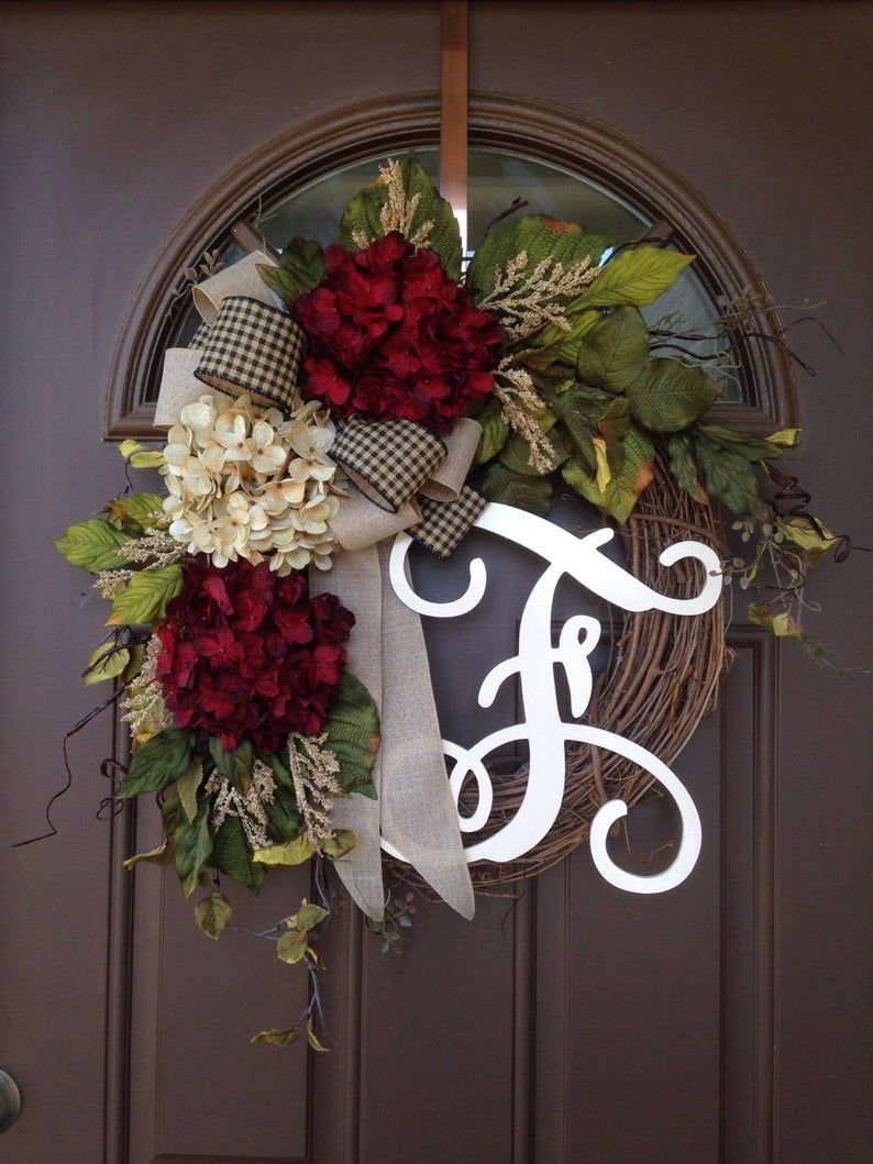 Year Round Wreath For Front Door