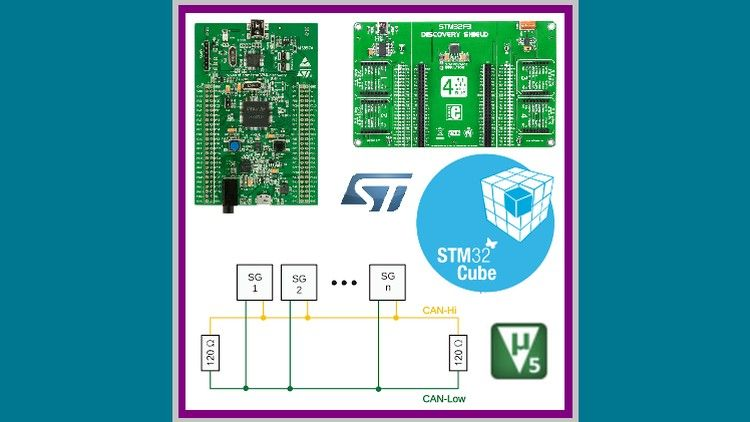 STM32F4 Discovery ile CAN BUS haberleşme (Keil Arm - CubeMX) | Be