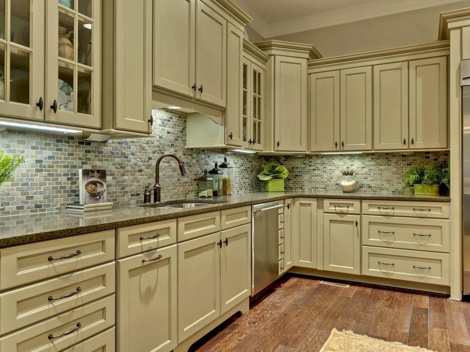 Country Kitchen Decor Countrykitchenideasforsmall Green Kitchen Designs Green Kitchen Cabinets Beige Kitchen
