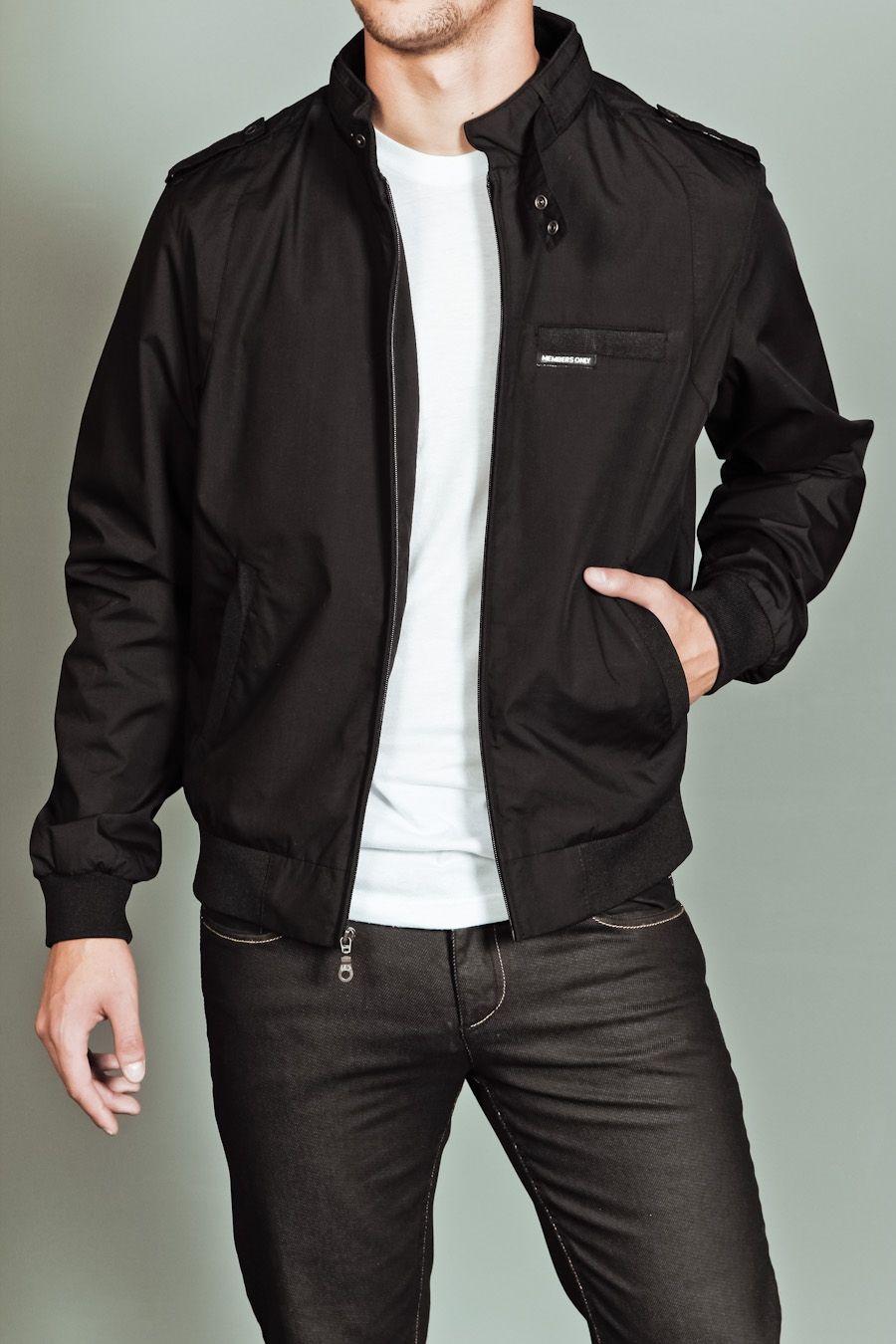 9c8607e976da Members Only- iconic racer jacket- jet black. | Style Savvy ...