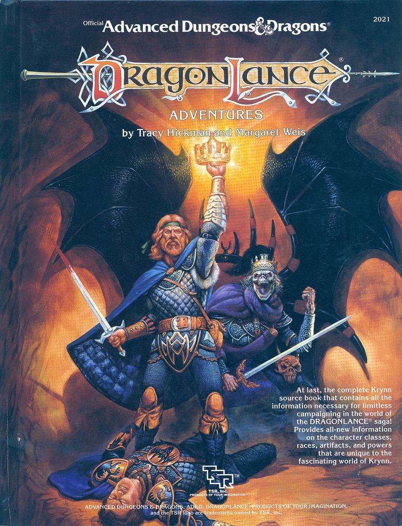 Dragonlance adventures best fantasy world ever