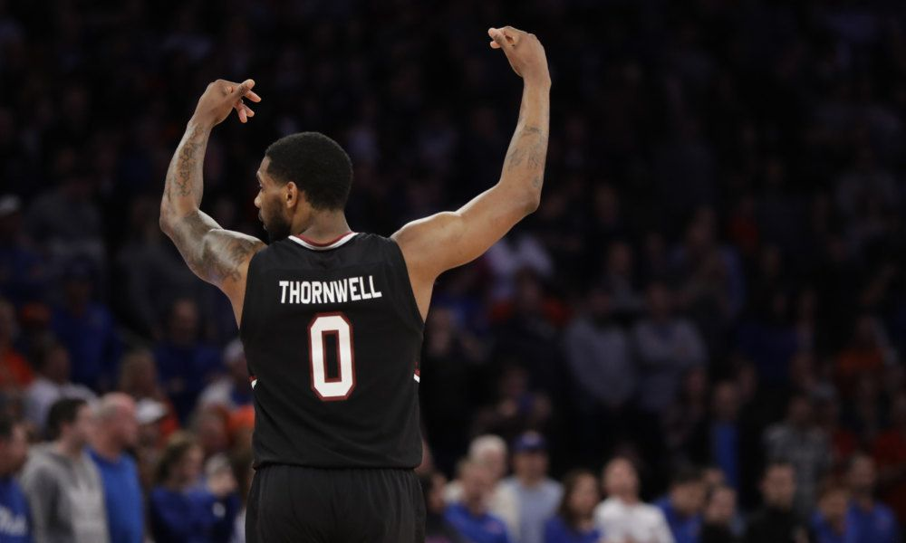 Zagoria: South Carolina legend English says Thornwell is greatest Gamecock ever = GLENDALE, Ariz. — Alex English has watched Sindarius Thornwell lead South Carolina to its first-ever Final Four from up close. The former South Carolina great sat courtside last weekend at Madison Square Garden as Thornwell earned Most Outstanding Player honors in the East Regional with a 26-point, 7-rebound, 2-steal performance in the Elite Eight win over Florida. Now as Thornwell battles flu-like symptoms…