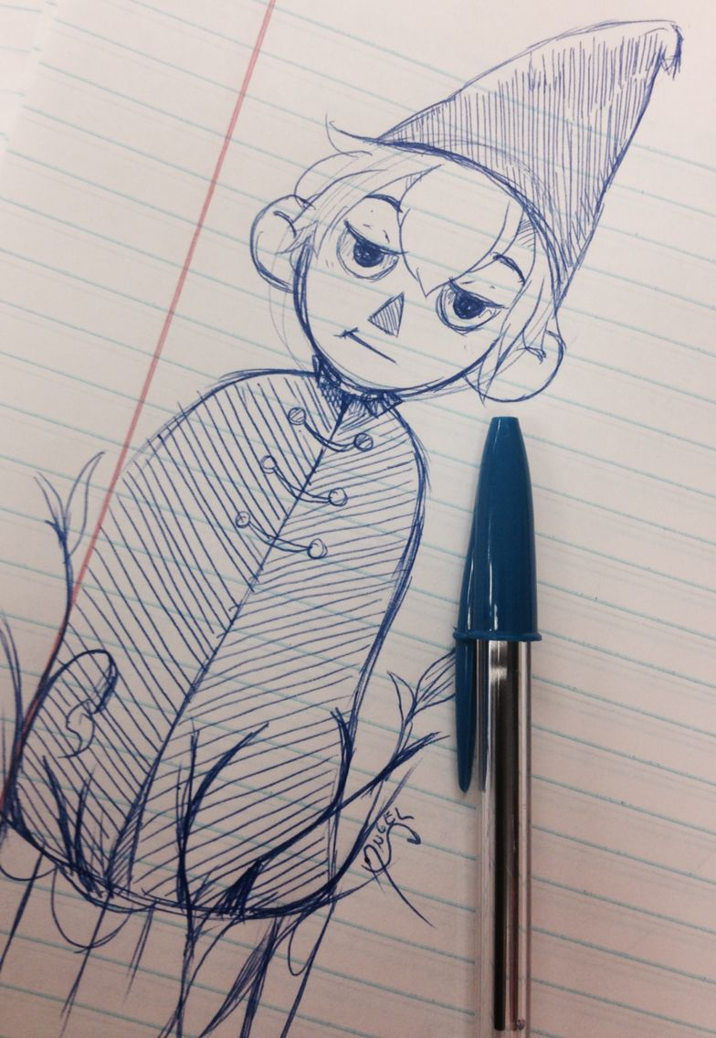 Over the garden wall art style  Warming there is going to be a lot of over the garden wall fan art