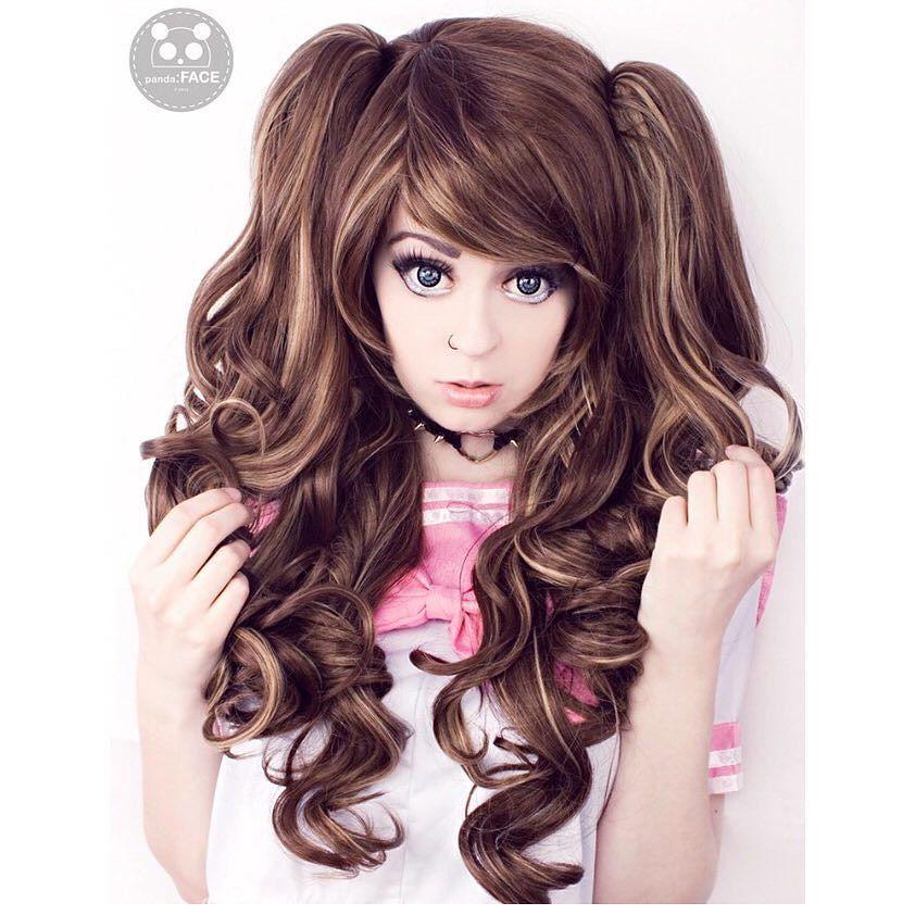 "Lush Wigs on Instagram ""chellochan Looks insanely cute"