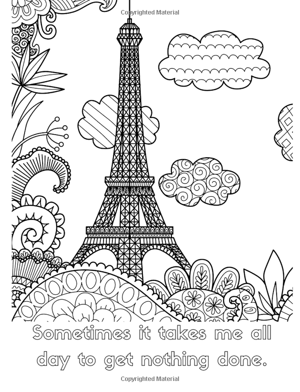 Amazon.com: Funny Quotes Coloring Book for Adults: Line ...