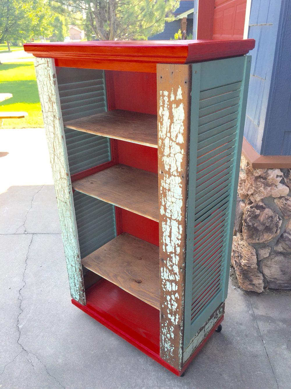 Pieces & Parts! An Old Oak Shutters Garage Sale