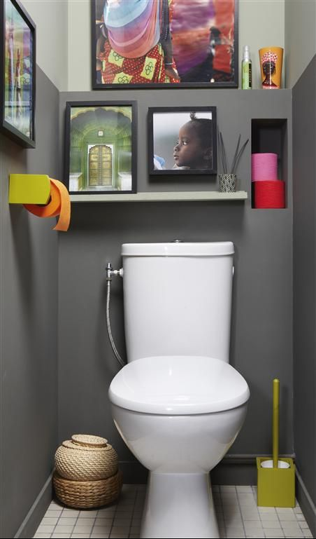 pingl par lauriane celton sur salle de bain pinterest toilette design et salle de bains. Black Bedroom Furniture Sets. Home Design Ideas