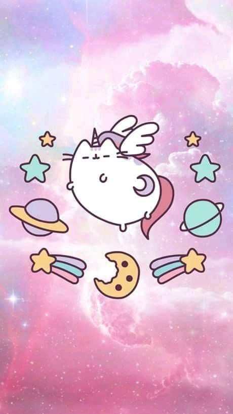 Pin By Endergirl3120 Gaming On Pusheen Pusheen Cute Pusheen Unicorn Cute Cartoon Wallpapers
