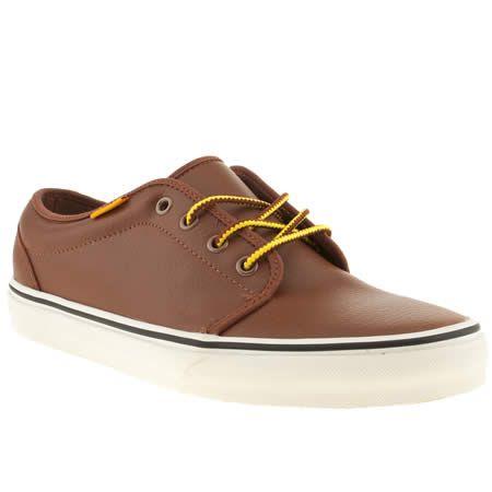 For Women Vans Tan Mens 106 Vulc Trainers Tan Shoes