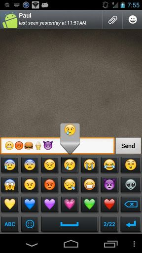 Androidsight Com Emoji Keyboard Emoticon Top Android Apps