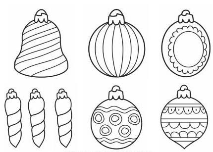 Christmas Ornaments Clipart Black And White Google Suche Christmas Ornaments Holiday Crafts Ornaments