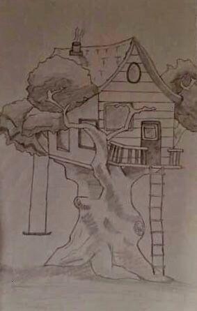 dune maison dans un arbre häuserDessin dune maison dans un arbre häuser 40 Cool and Simple Drawings Ideas To Kill Time  Cartoon District Super House Drawing Art...