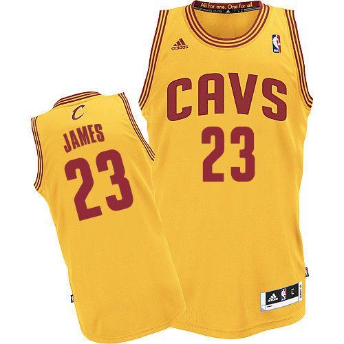 Adidas Authentic LeBron James Men's Jersey NBA Cleveland Cavaliers ...