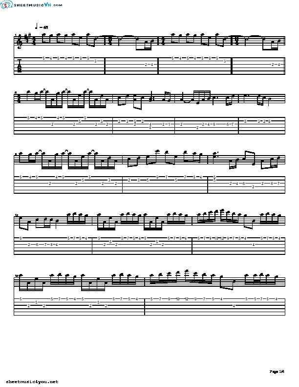 All Music Chords sheet music for river flows in you : River Flows In You - Yiruma (guitar) | Free guitar sheet music ...
