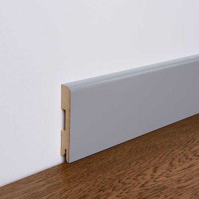 Listwa Przypodlogowa Mdf Foge 16 X 100 X 2000 Mm Szary Polysk Listwy Przypodlogowe Home Decor Decor Furniture