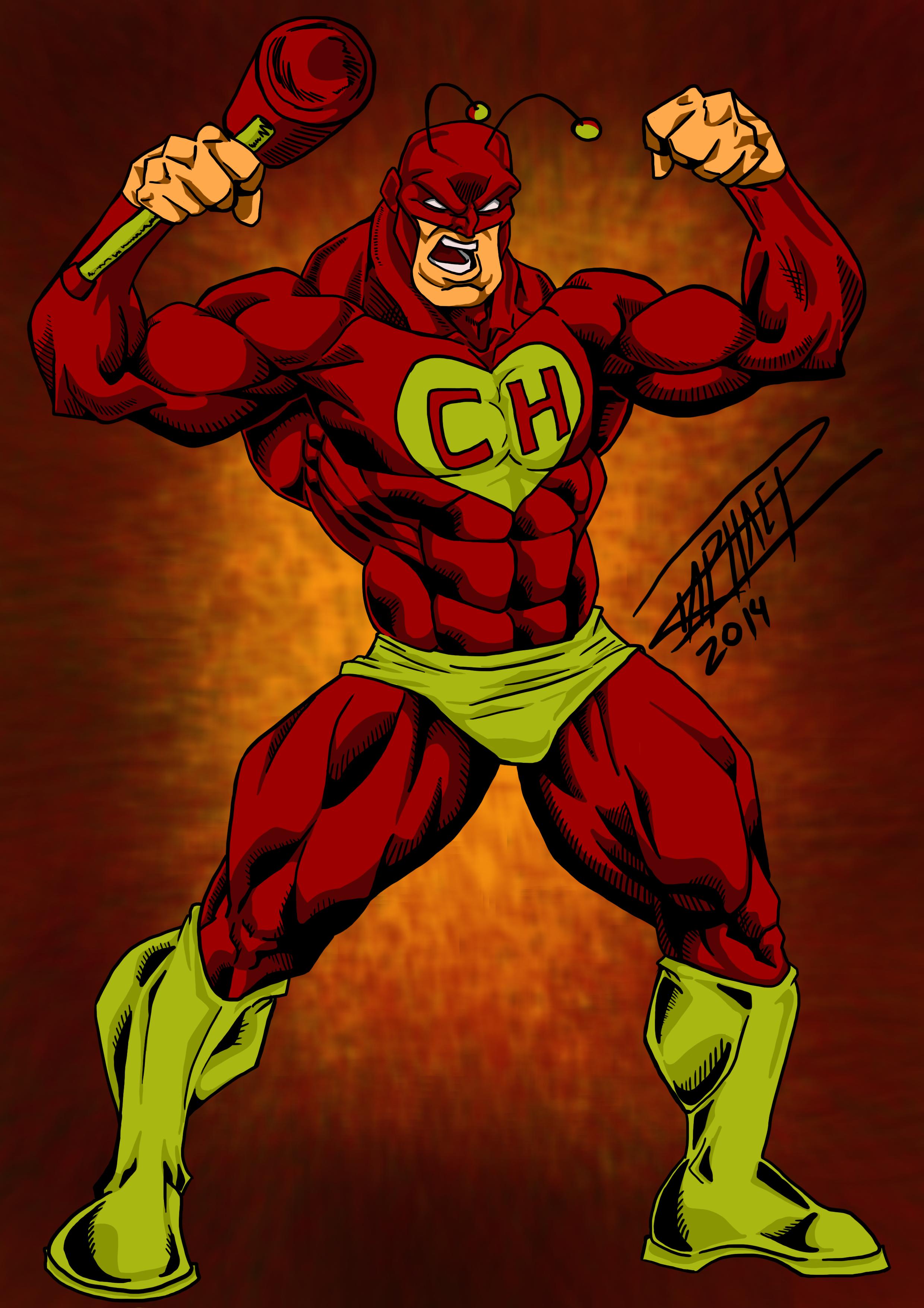 Super Chapolin | Chapolin, Personagens de quadrinhos, Arte de silhueta