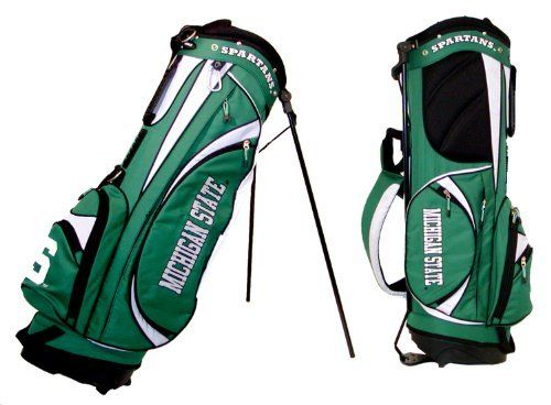 Ncaa Michigan State University Golf Bag With Stand By Team 138 80 6 Zippered
