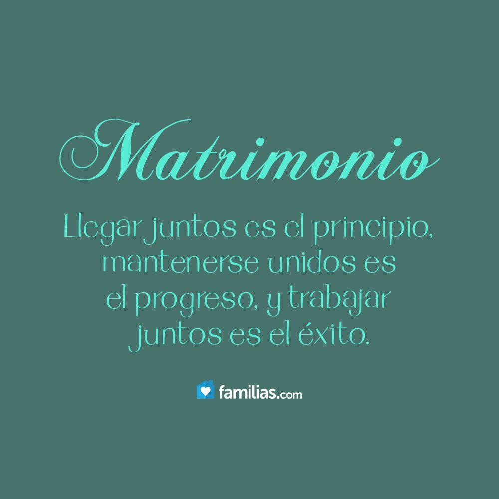 Marriage Quotes Spanish: Trabajar Juntos Como Matrimonio Es El éxito