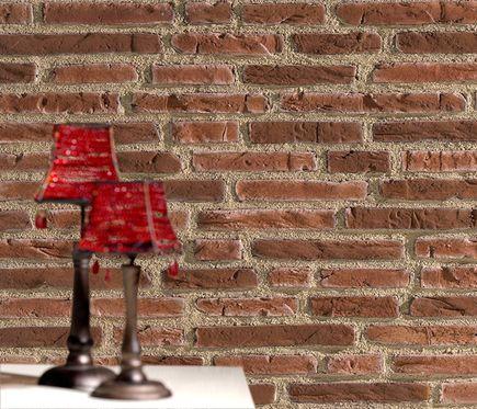 Panel de poliuretano con acabado ladrillo panespol - Pintura para azulejos bricodepot ...