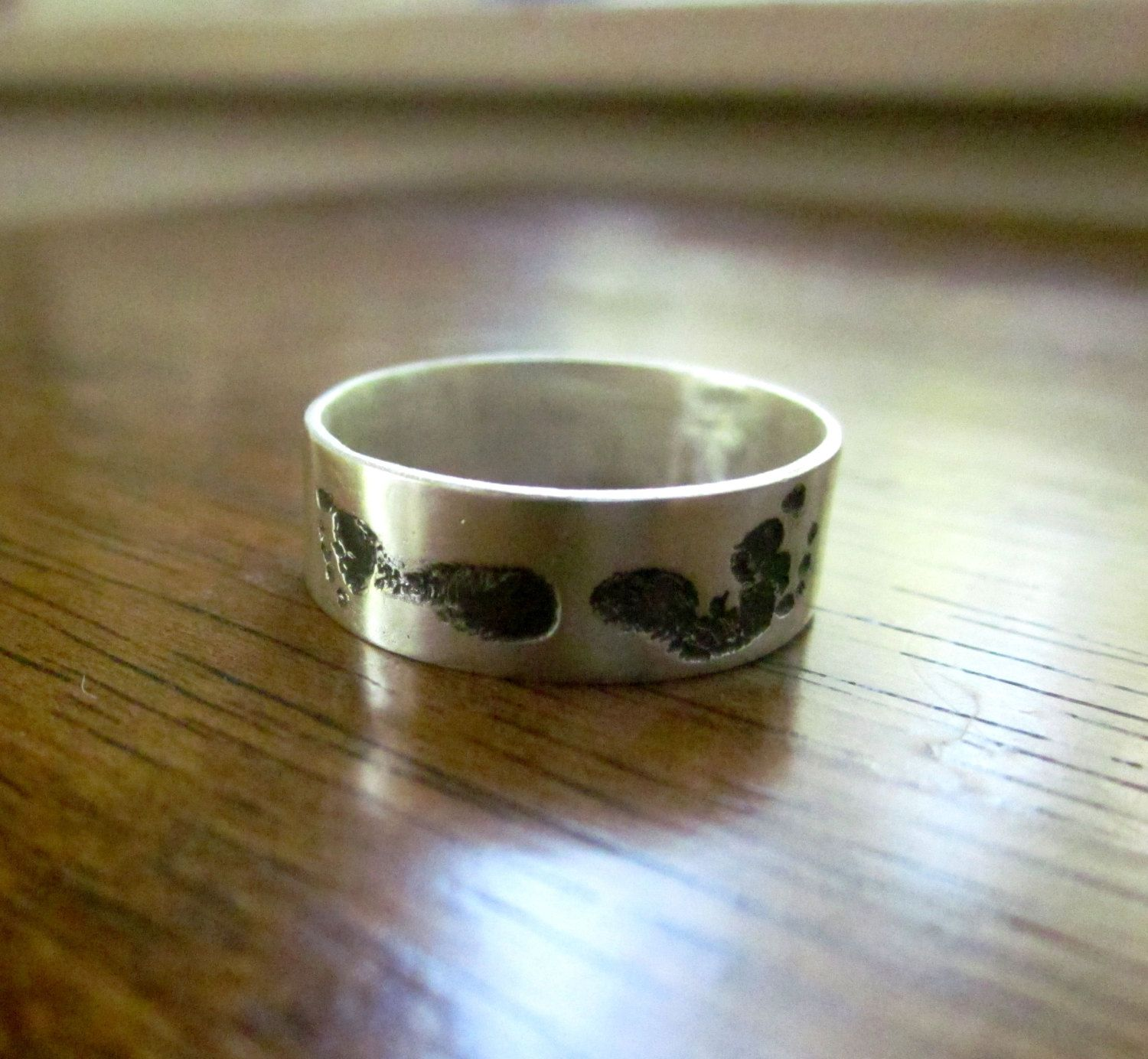 and moeders een jewlr engravable mothers personalisable voor footprint ring baby rings desktop