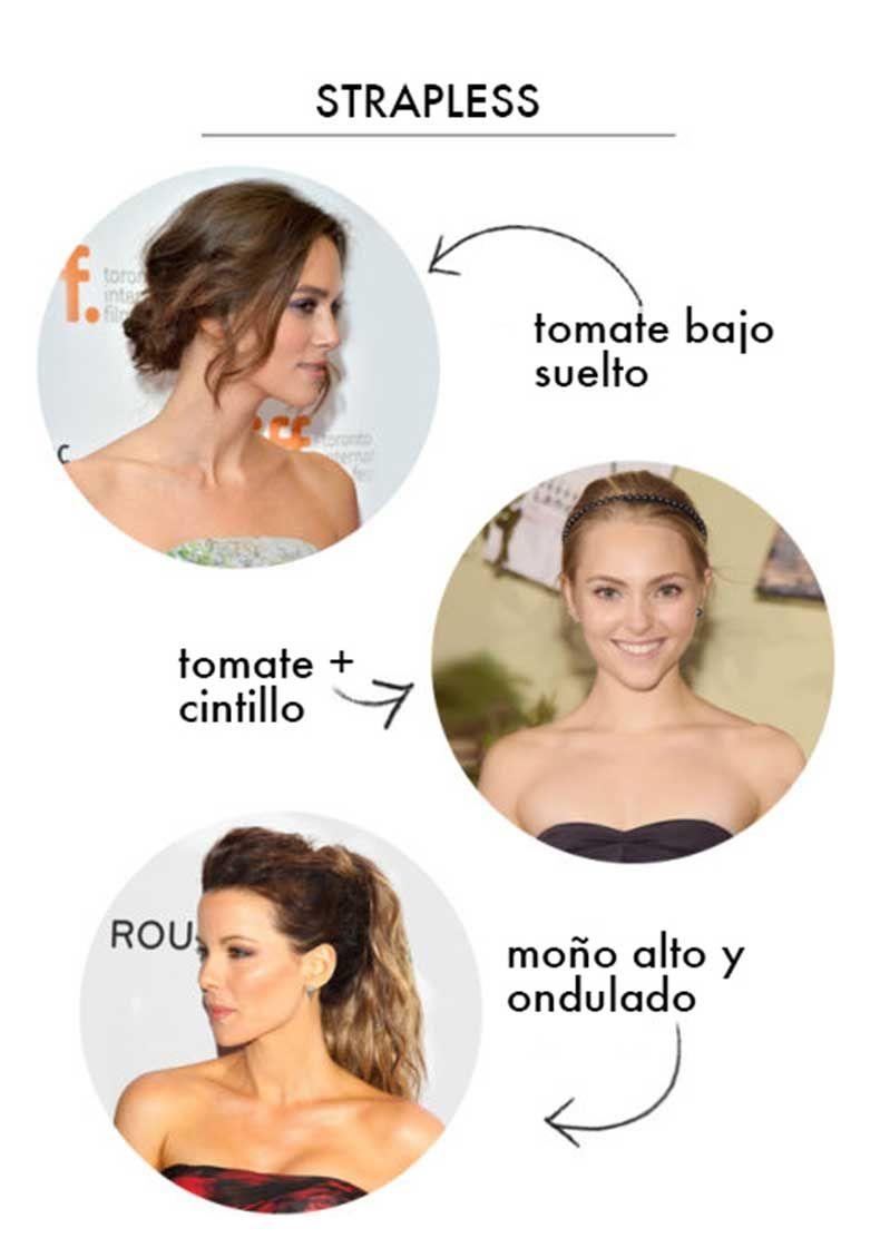 21 Combinaciones Perfectas Entre Peinados Y Escotes Para