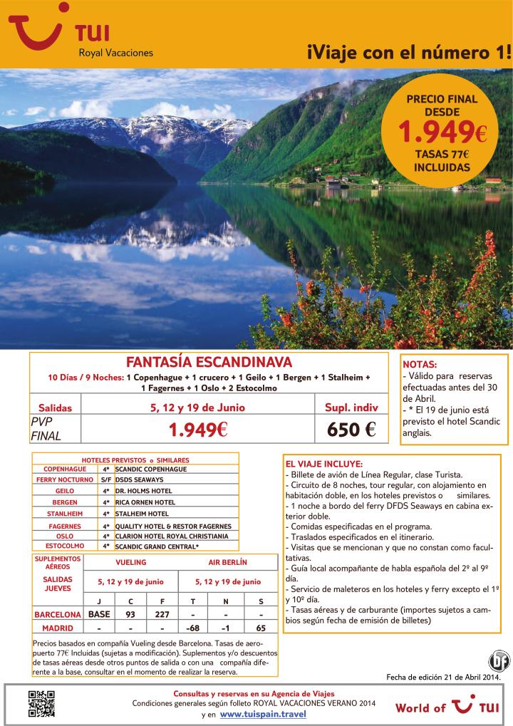 Oferta Fantasía Escandinava 10 días/ 9 noches. Precio final desde 1.949€ ultimo minuto - http://zocotours.com/oferta-fantasia-escandinava-10-dias-9-noches-precio-final-desde-1-949e-ultimo-minuto/