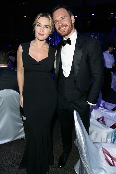 ANUARY 02 2016-   Kate Winslet and Michael Fassbender attend the 27th Annual Palm Springs International Film Festival Awards.