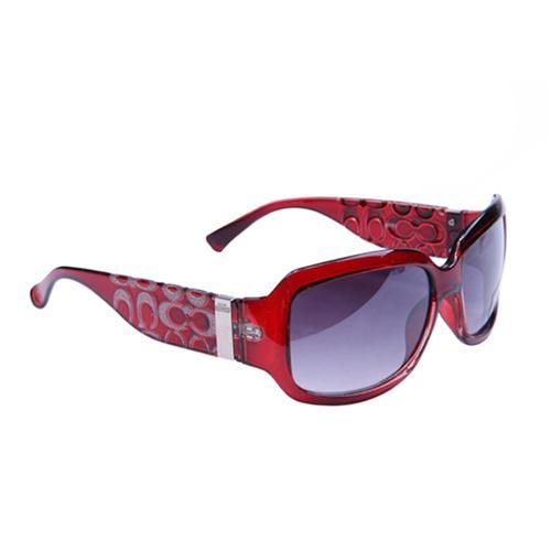 95334cf573e Look Here! Coach Pamela Red Sunglasses BVL Outlet Online