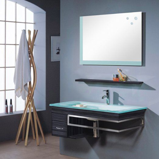 Badezimmermöbel Set - Badmöbel Bari - Wenge - M-70130 238 - badezimmermöbel günstig online