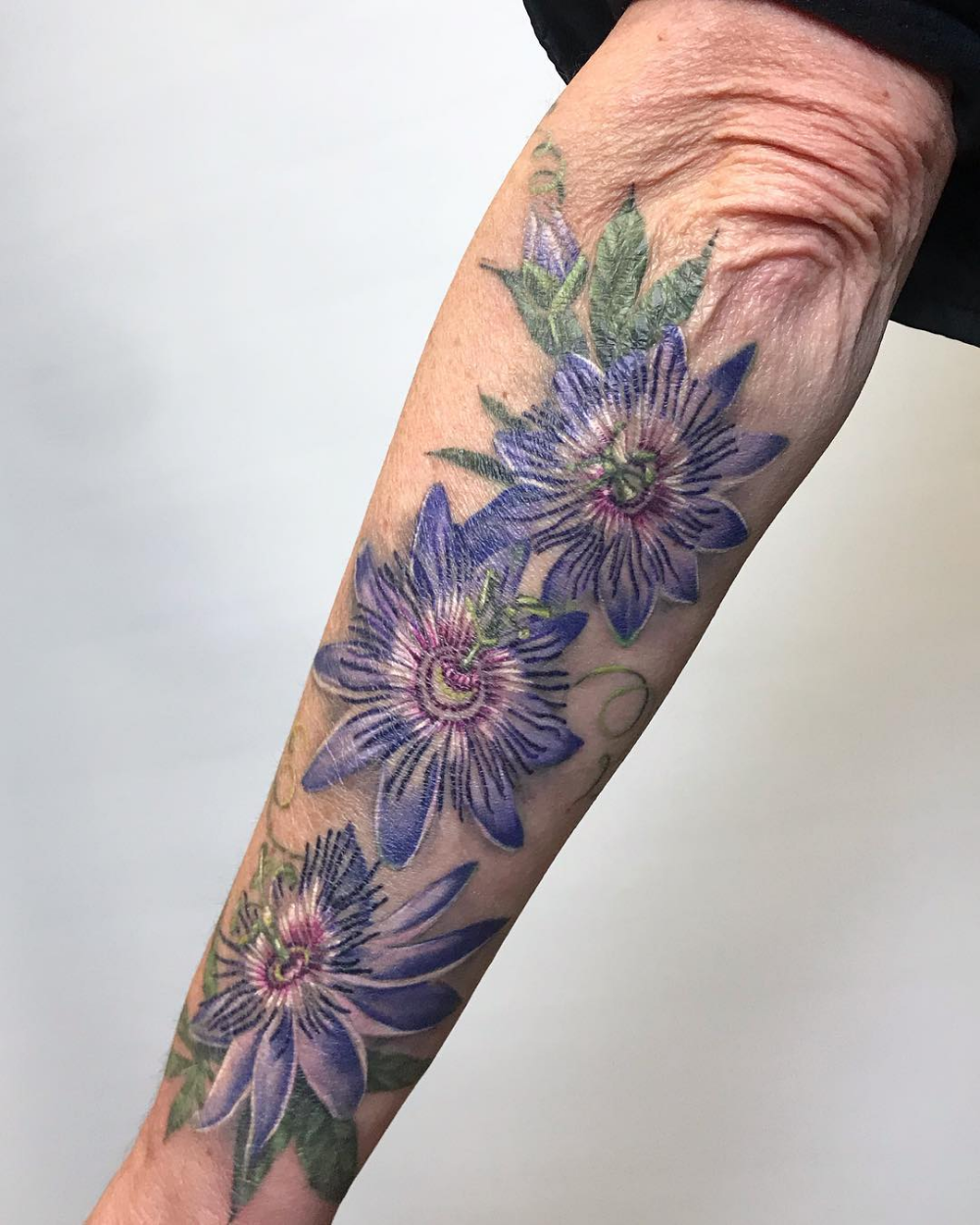 Passion Flower Tattoos Google Search Tattoos Flower Tattoos Half Sleeve Tattoo