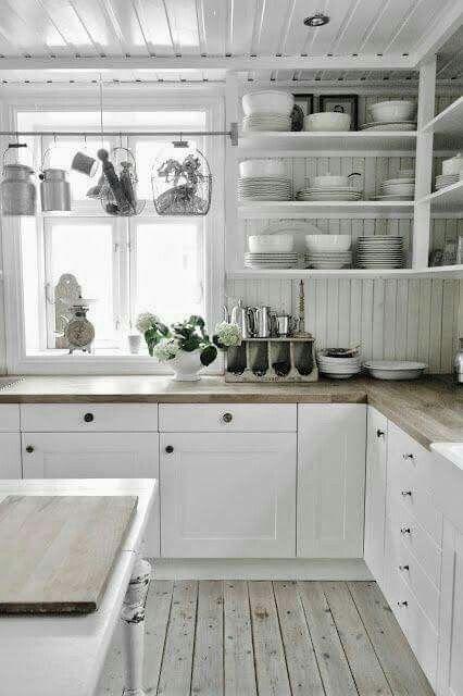 Kitchen Homee Pinterest Cocinas, Decoración y Chic antiguo