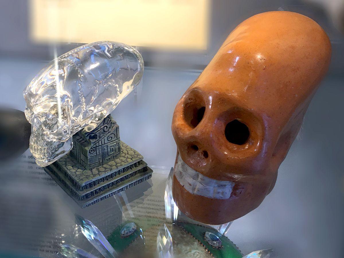 Макеты черепов вытянутой формы
