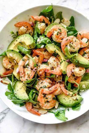 einfaches Rezept Frühlingssalat Frühlingsmenü gesunde Lebensweise   – Diet Recipes