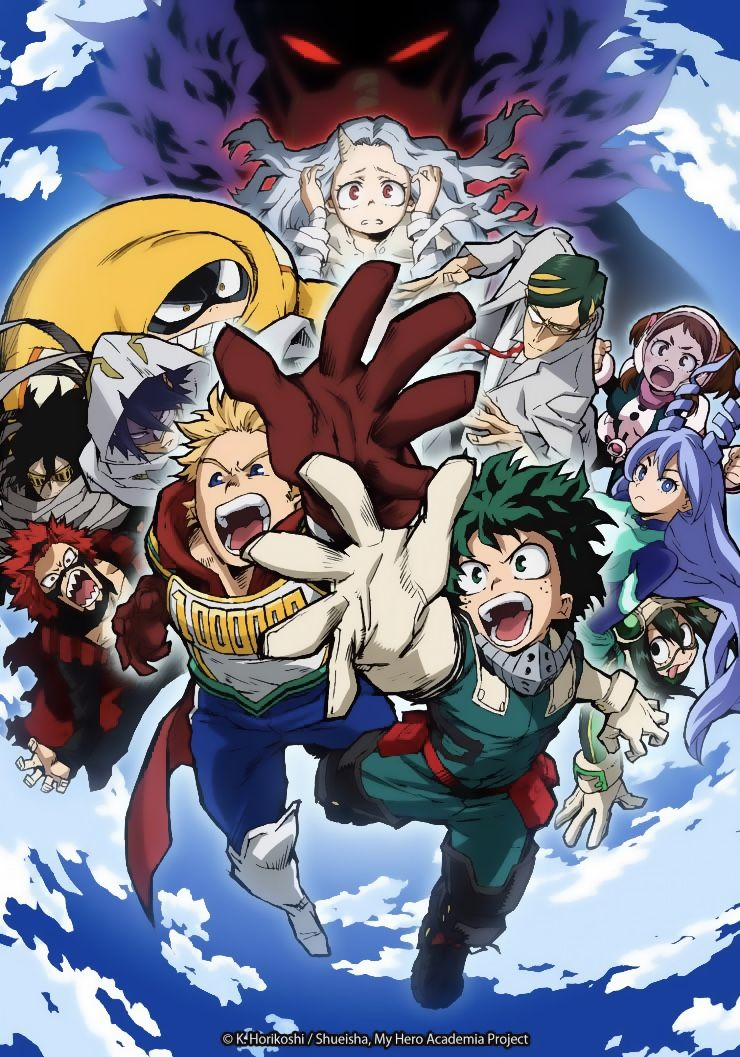 Saison 4 en 2020 My hero academia, Héros, Anime