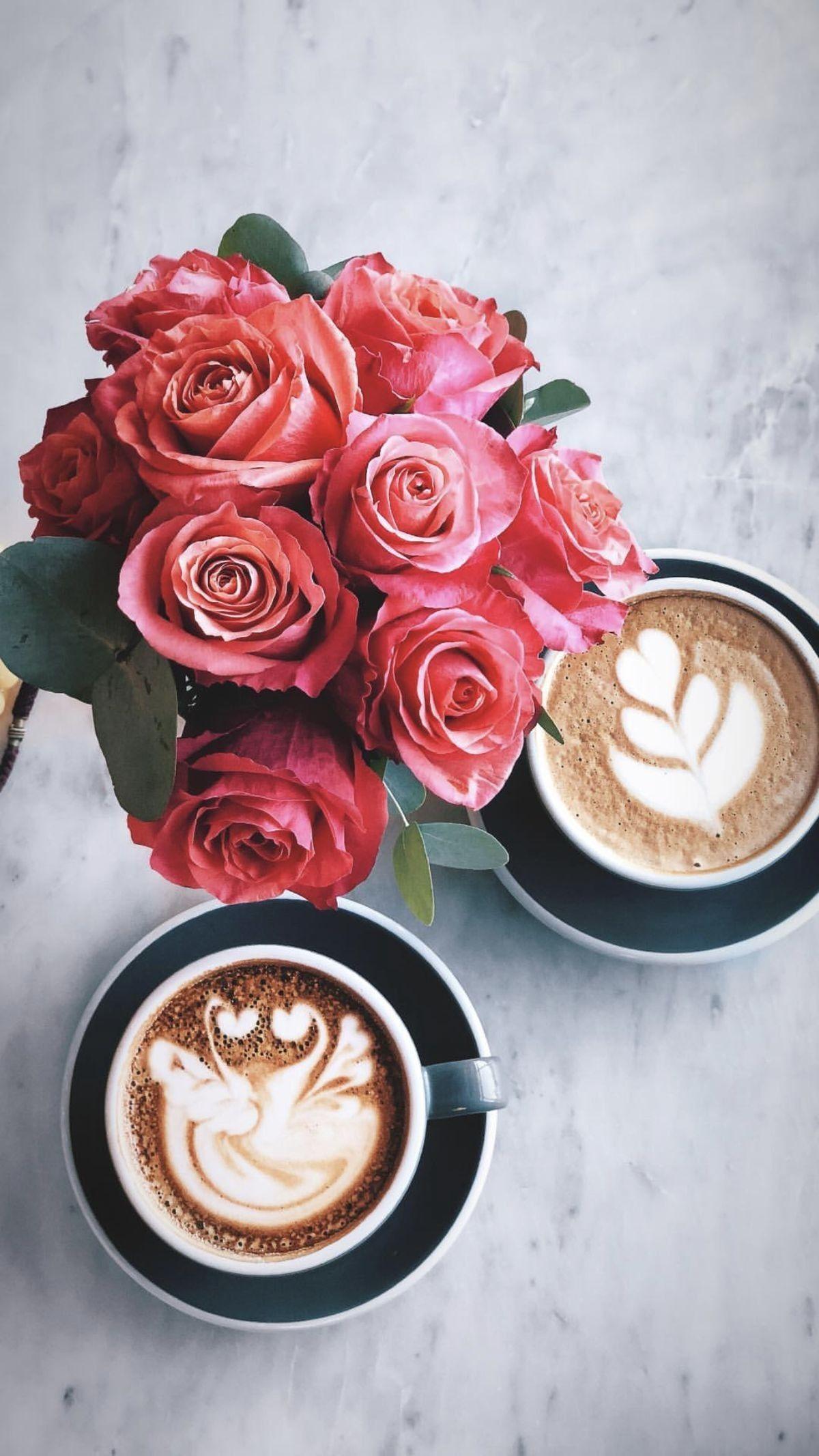 Coffeelover Latte Coffee Latteart Coffee Flower Aesthetic Coffee Coffee Cafe