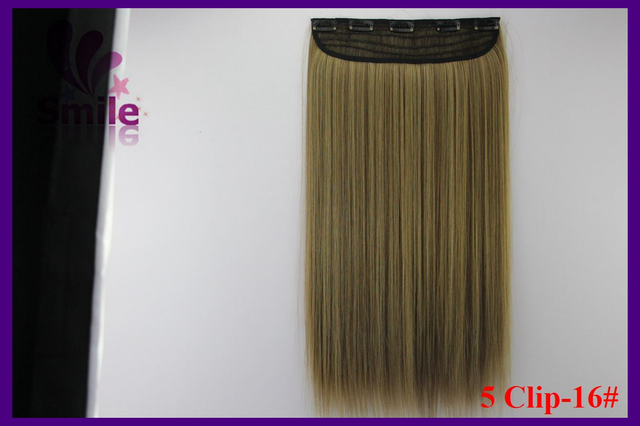 Global Service 24inch 130g Heat Resistant Synthetic Hair Extensions