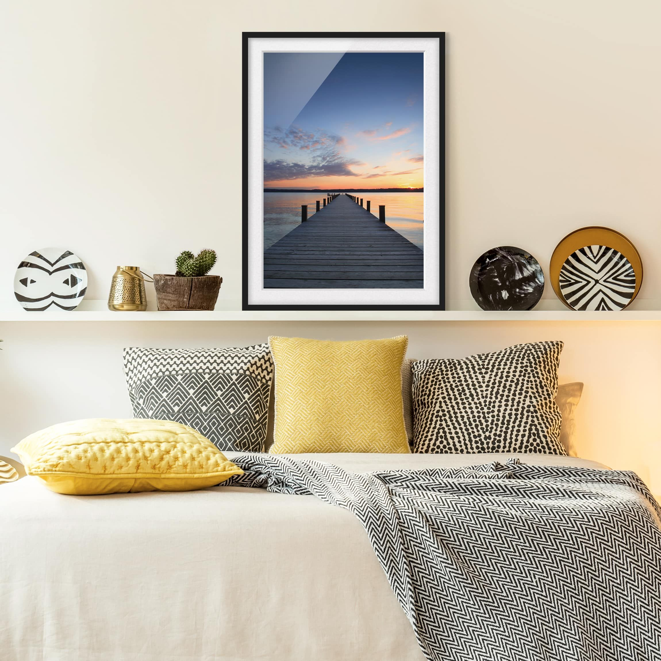 Poster con cornice - Place Of Silence - Verticale 4:3 ...