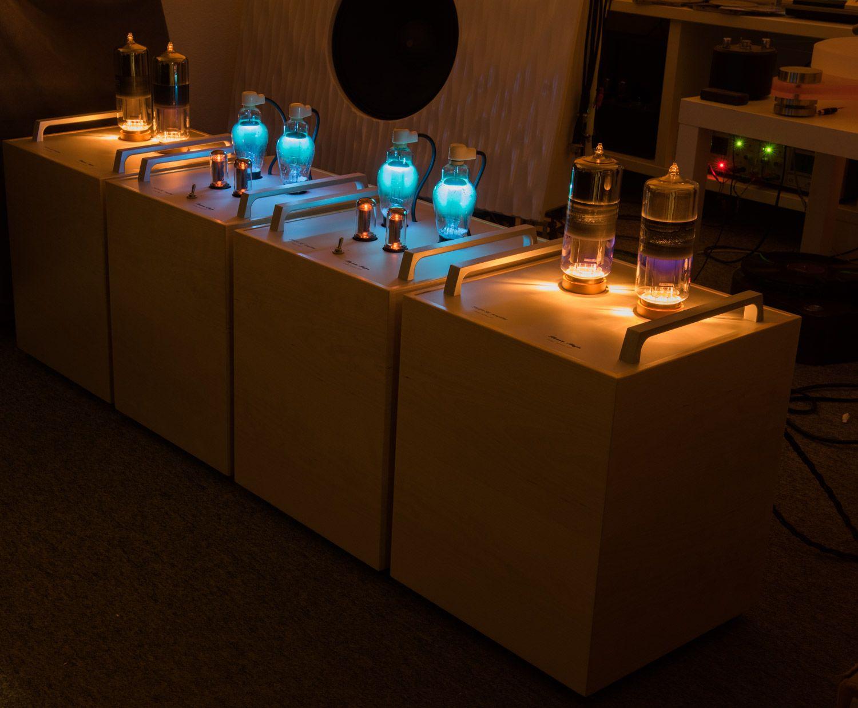 Thomas Mayer 211 Monos with mercury vapor rectifiers | glow time