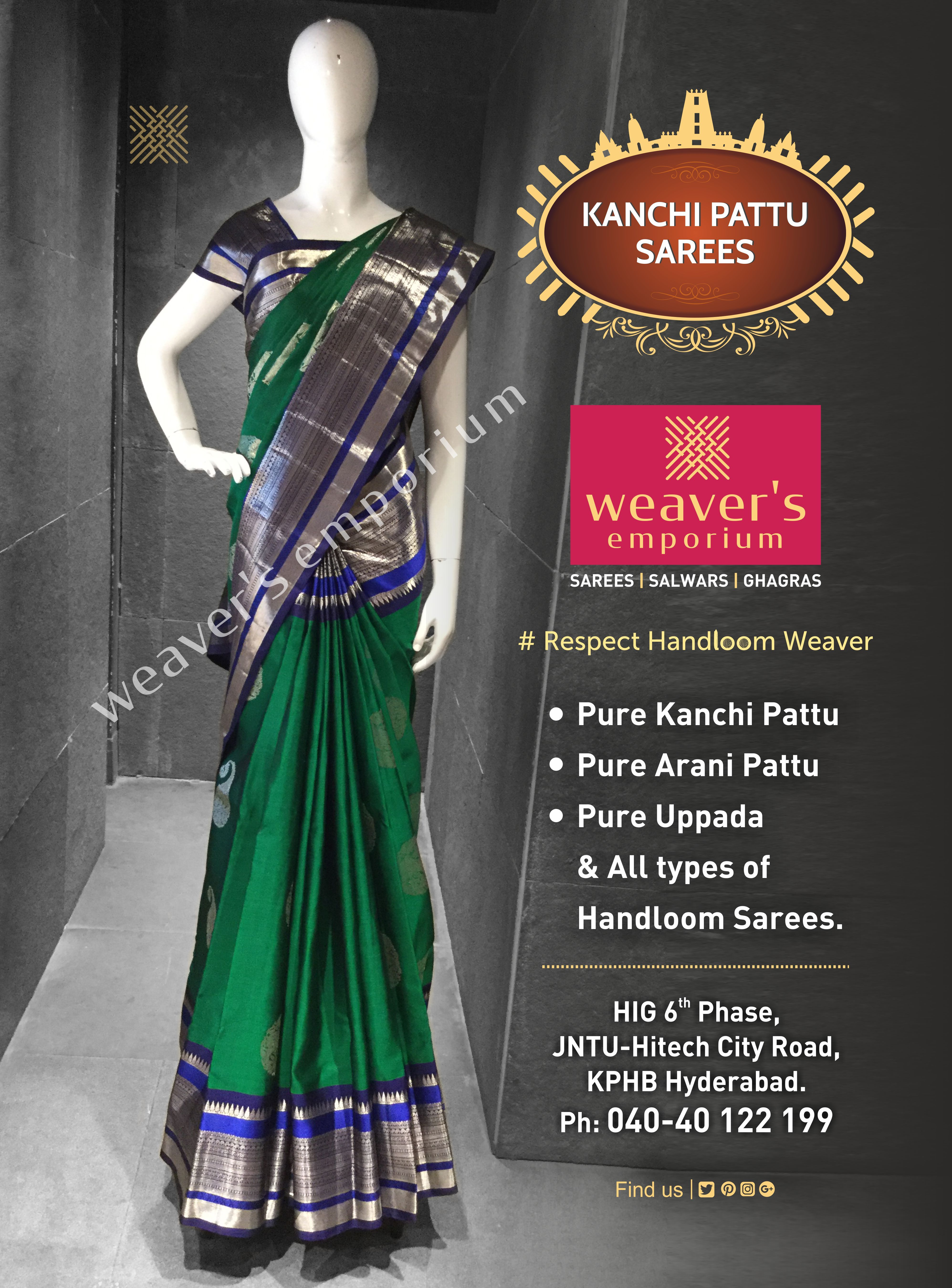 Pin By Weavers Emporium On Kanchi Pattu Sarees Saree Handloom Saree Victorian Dress
