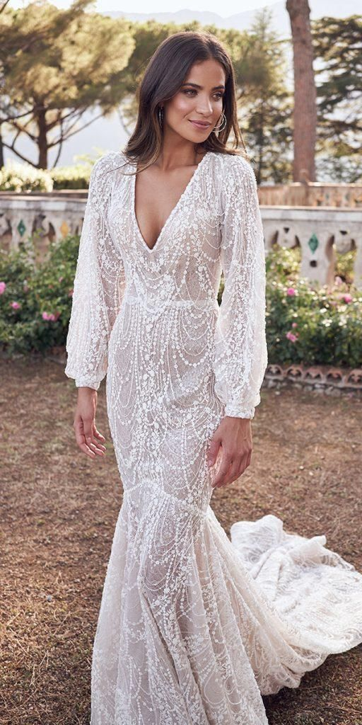 Vintage Wedding Dresses With Sleeves Youll Love ★ #bridalgown #weddingdress – World