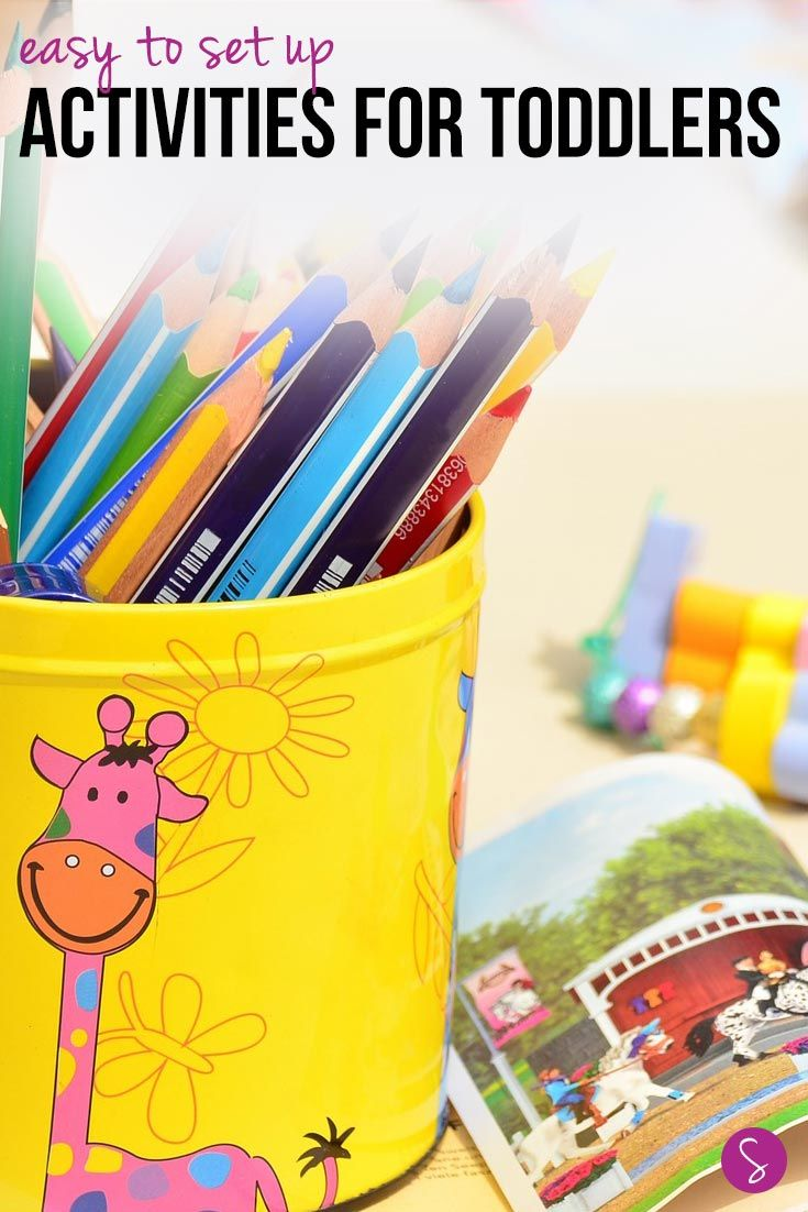 We've rounded up our favourite activities for toddlers to help your child learn through play. From tot school and craft ideas to great books to read!