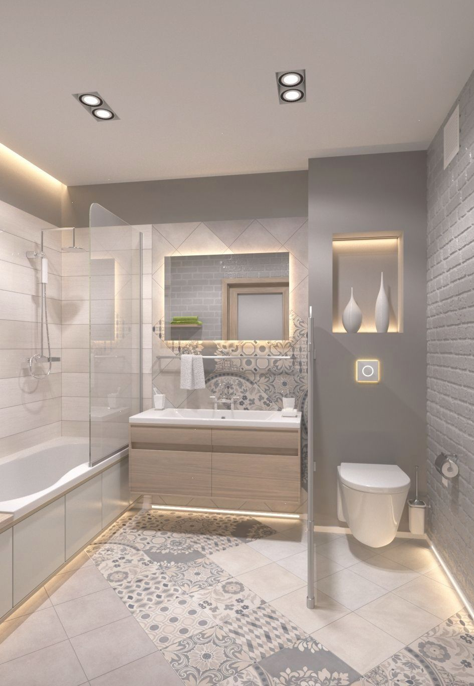 Small Bathroom Ideas And Small Bathroom Designs For Both City And Country Homes From Small Small Master Bathroom Small Bathroom Styles Bathroom Remodel Master