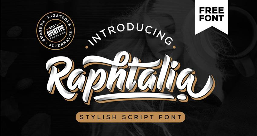20 Free Elegant Script Fonts for Designers Graphic